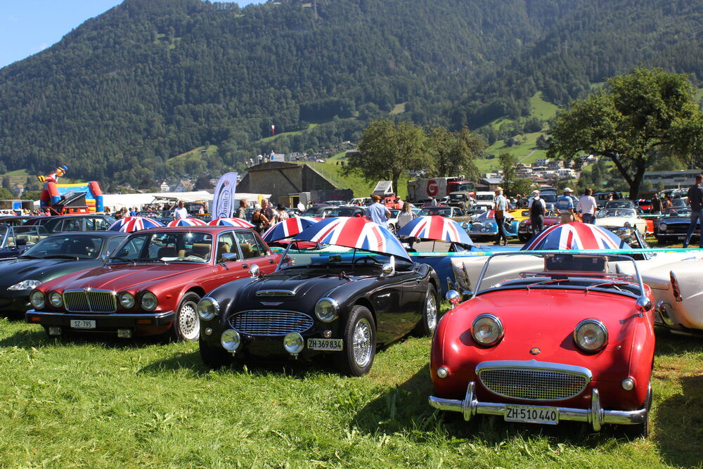British Car Meeting Mollis 2019 (Fotos: Stefan Fritschi)